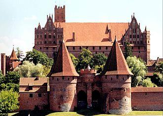 Prussia (region) - Image: Marienburg (1999)