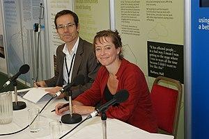 Cheltenham Science Festival - Co-Directors Kathy Sykes and Mark Lythgoe at the 2009 Cheltenham Science Festival