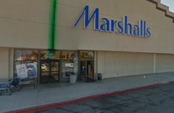typical Marshalls store in Torrance , California