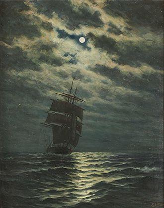 Martin Aagaard - Skips i måneskinn
