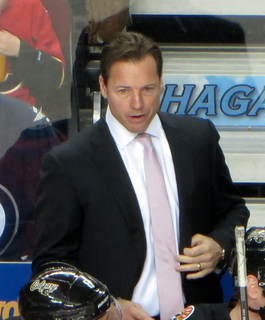 Martin Gélinas Canadian ice hockey player