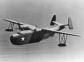 Martin PBM-3 Mariner of VP-74 in flight, in 1942 (fsa.8b08013).jpg