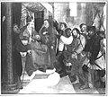 Martin Schaffner - Erster Wettenhauser Altar, Christus vor Kaiphas Rückseite, Auferstehung Christi - 1403 - Bavarian State Painting Collections.jpg