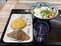 Marugame Seimen Tororo Egg Udon and inari.jpg