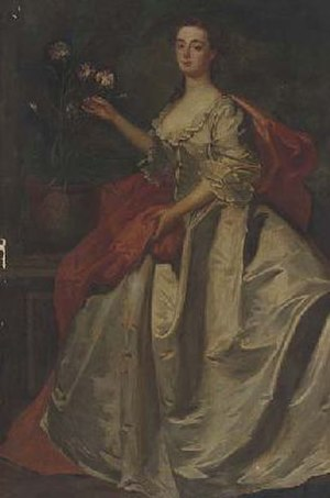 Mary Howard, Duchess of Norfolk (died 1773) - The future duchess in 1727, by James Latham