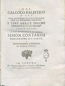Marzagaglia, Gaetano – Del calcolo balistico, 1748 – BEIC 11380801.jpg