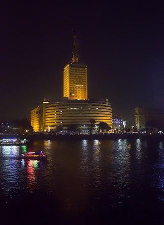 Maspero television building - Image: Maspiro building