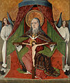 Master Gh - Holy Trinity, Central Panel from the High Altar of the Trinity Church, Mosóc - Google Art Project.jpg