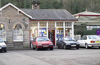 Matlock railway station - Matlock station, 2005