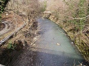 Matsesta River - The Matsesta river in Sochi