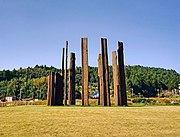 真脇遺跡の環状木柱列(石川県鳳珠郡能登町)