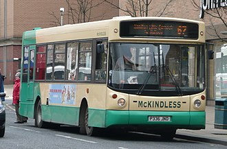 Alexander ALX200 - ALX200 bodied Volvo B6LE with McKindless in Glasgow.