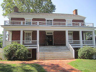 Wilmer McLean - McLean House at Appomattox Court House National Historical Park (photographed 2011)