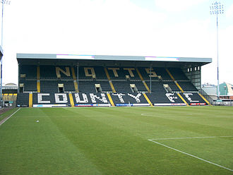 Spion Kop (stadiums) - The Kop at Meadow Lane