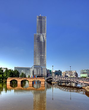 Cologne Tower - Image: Mediapark Köln Turm (0508 10)