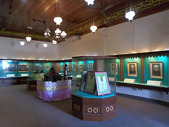 Melaka Islamic Museum - Museum exhibition hall