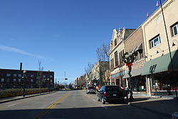 Downtown Menasha, a historic district