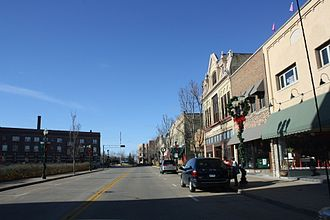Menasha, Wisconsin - Downtown Menasha, a historic district