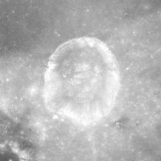 Menelaus (crater) - Apollo 15 image