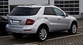 Mercedes-Benz ML 350 CDI 4MATIC Grand Edition (W 164, Facelift) – Heckansicht, 17. Mai 2012, Velbert.jpg