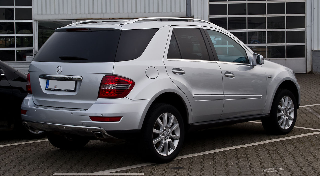 Mercedes Benz Germany >> File:Mercedes-Benz ML 350 CDI 4MATIC Grand Edition (W 164, Facelift) – Heckansicht, 17. Mai 2012 ...