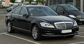 Mercedes-Benz S 350 CDI BlueEFFICIENCY 4MATIC (W 221, Facelift) – Frontansicht, 6. Mai 2011, Velbert.jpg