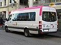 Mercedes-Benz Sprinter Midcity n°477U (vue arrière gauche) - TUB (Hôtel de Ville, Bellegarde-sur-Valserine).jpg