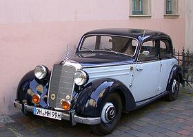 mercedes benz w191 wikipedia rh en wikipedia org Mercedes-Benz 1950 Models Mercedes-Benz Vito