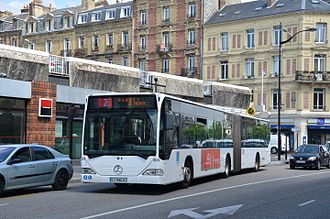 Le Havre - Mercedes-Benz Citaro of the CTPO