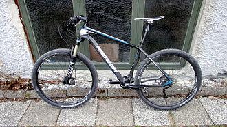 Fox Racing Shox - Merida Big Seven mountain bike with Fox front suspension