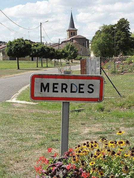 File:Merles-sur-Loison (Meuse) city limit sign (02).JPG