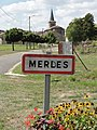 Merles-sur-Loison (Meuse) city limit sign (02).JPG