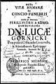 Meta vitae hvmanae seu Concio funebris in laudem et memoriam Dn. Lucae Gornicki praepositi. Post 1651 (78401201).jpg