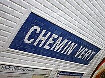Metro de Paris - Ligne 8 - Chemin Vert 03.jpg