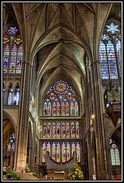 Vitraux Metz cathédrale saint-Étienne de metz — wikipédia