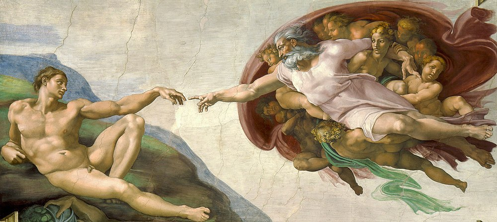Michelangelo, The Creation of Adam.jpg