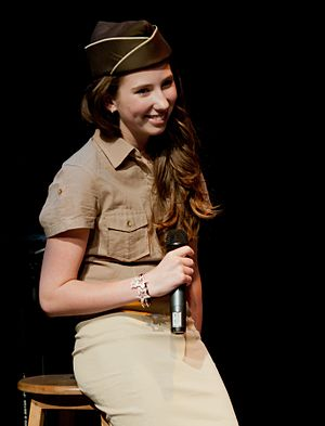 Boogie Woogie Bugle Boy - Canadian actress Michelle Creber performing the song.