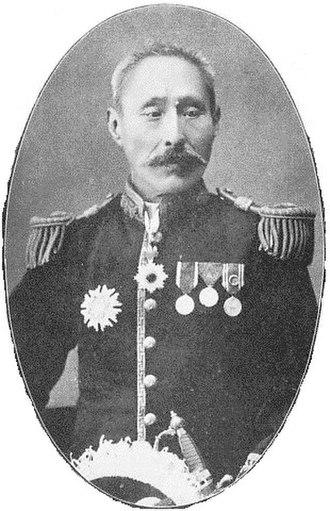 Kazoku - Marquess Michitsune Koga (1842-1925), former Governor of Tokyo prefecture.