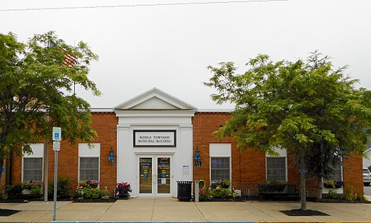 Middle Township Municipal Building in Cape May Court House