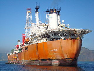FPSO <i>Noble Seillean</i> floating oil production, storage and offloading vessel