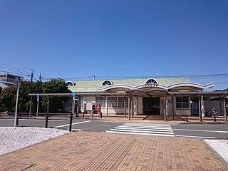 Mikawa-Miya Station Railway station in Gamagōri, Aichi Prefecture, Japan