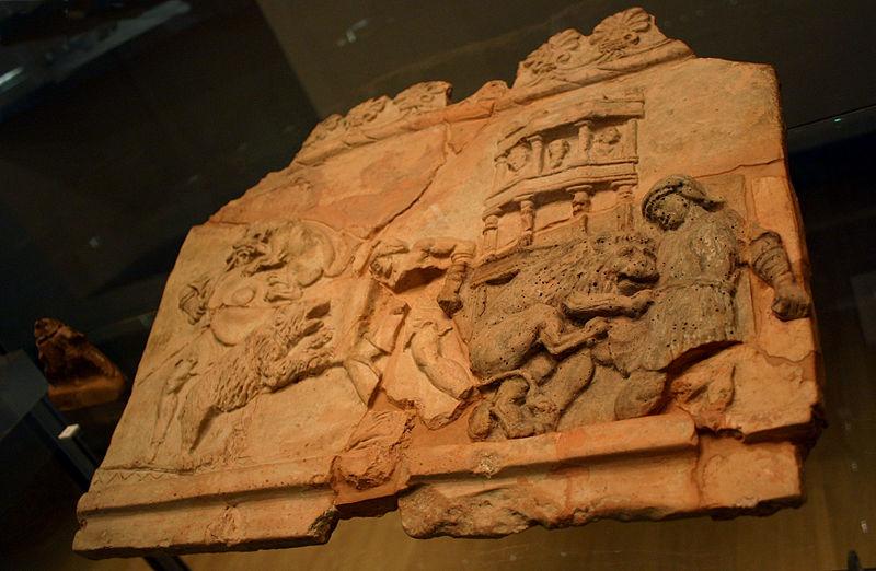 File:Milano - Antiquarium - Terracotta con venatio, sec. I - Foto Giovanni Dall'Orto - 14-July-2007 - 4.jpg