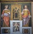 Milano - San Maurizio al monastero maggiore, aula dei fedeli, Santa Cecilia e sant'Orsola.JPG