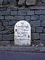Milestone, Bacup Road, Todmorden - geograph.org.uk - 1229342.jpg