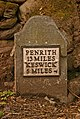 Milestone on old A594 - geograph.org.uk - 784129.jpg