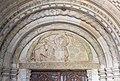 Millstatt Pfarrkirche Christus Salvator romanisches West-Portal Tympanon 20042015 2278.jpg