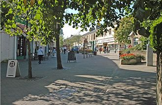 Milngavie - The town centre