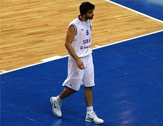 Miloš Teodosić - Teodosić during EuroBasket 2009.