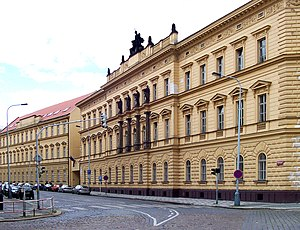 Ministry of Justice (Czech Republic) - Image: Min Of Justice, Prague New Town