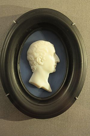 William Hamilton (diplomat) - Miniature of Sir William Hamilton, 1784, Scottish National Portrait Gallery